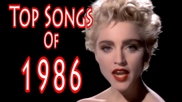 Top Songs of 1986