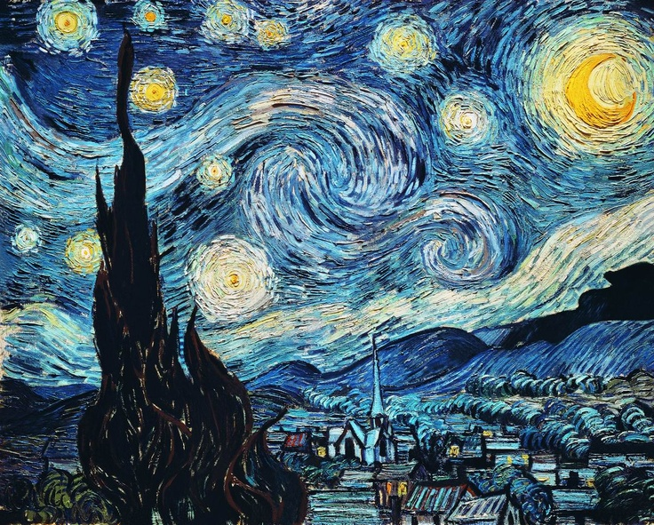 """Винсент Ван Гог, """"Звездная ночь"""""""