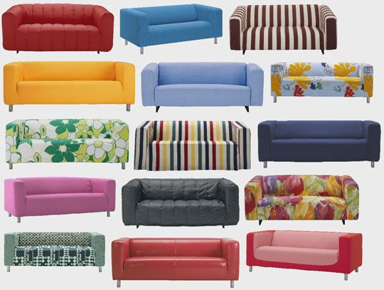 30 Years of IKEA's KLIPPAN Sofa: 1979 - 2009 | Apartment Therapy