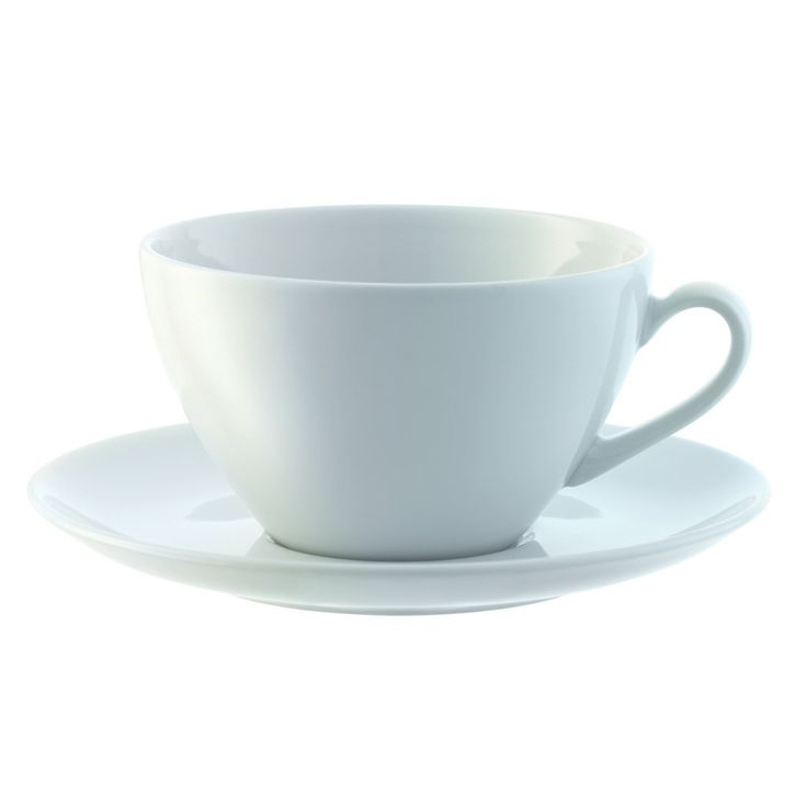 Drink your favourite coffee in style with this set of four cappuccino cups and saucers from LSA International's Dine collection. Perfectfor coffees, cappuccinos and other hot drinks, each cup and ...