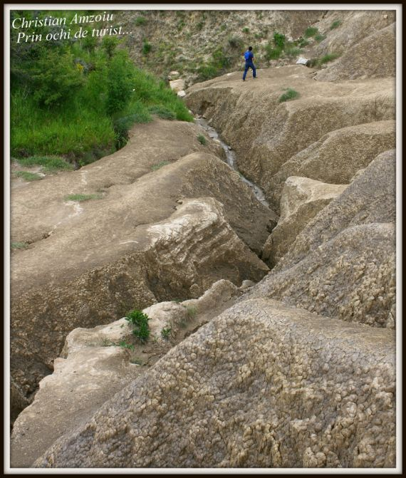 The muddy volcanoes of Buzau district are a must see sight. Bubling mud is brought to the surface by gases, creating tiny volcanoes above ground. The running mud, creates amazing ravines when it flows above ground...