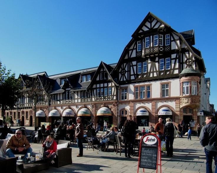 Marktplatz in Bad Homburg vor der Höhe, Germany