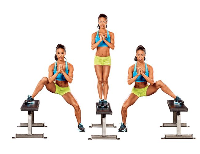 Try these Bombshell Fitness Pop Toppers exercises to shape your butt and legs
