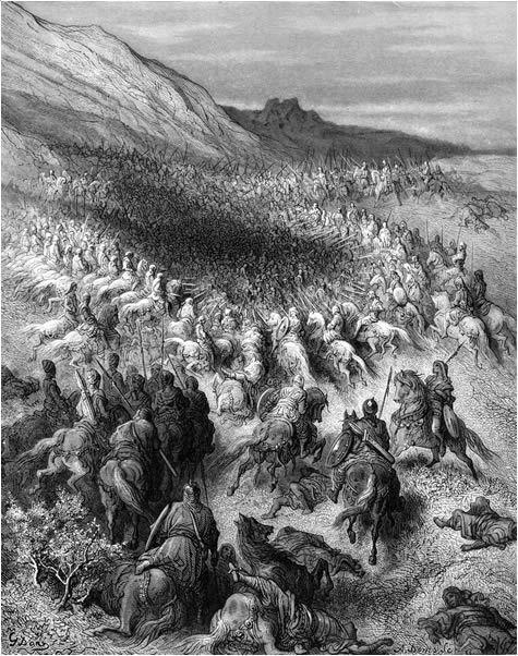 Gustave Doré- Battle of Hattin - Battle of Hattin - Wikipedia, the free…