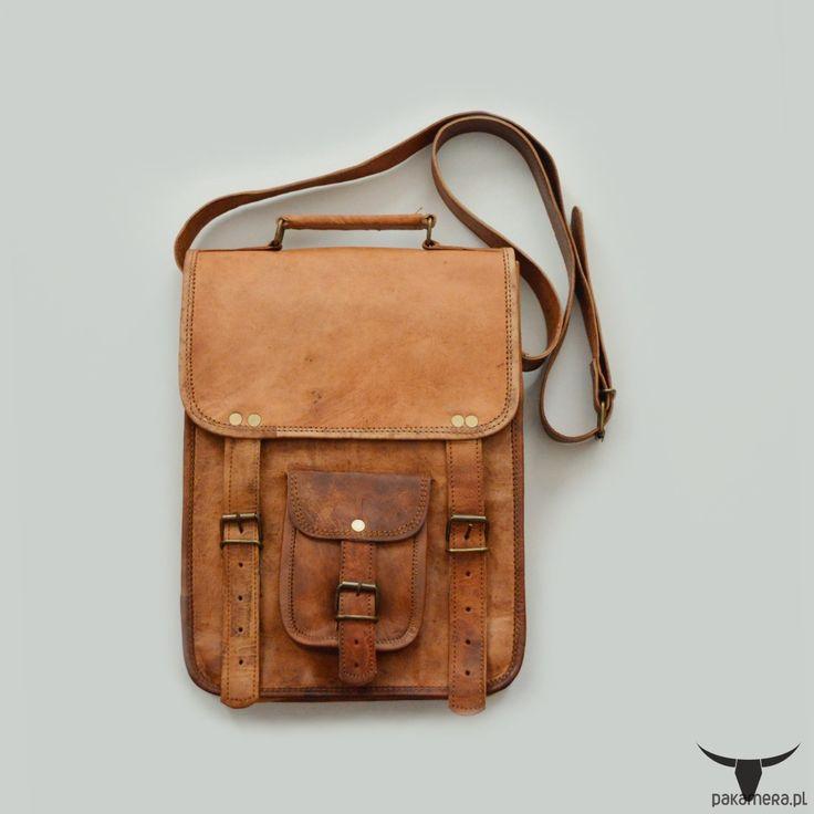 torby na ramię - unisex-Torba skórzana listonoszka - ZADRA BAG