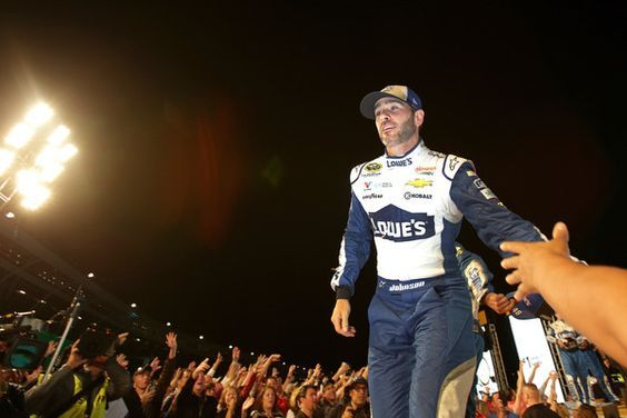 Jimmie Johnson Photos - Jimmie Johnson, driver of the #48 Lowe's Chevrolet, is introduced prior to the NASCAR Sprint Cup Series Sprint All-Star Race at Charlotte Motor Speedway on May 21, 2016 in Charlotte, North Carolina. - NASCAR Sprint Cup Series Sprint All-Star Race