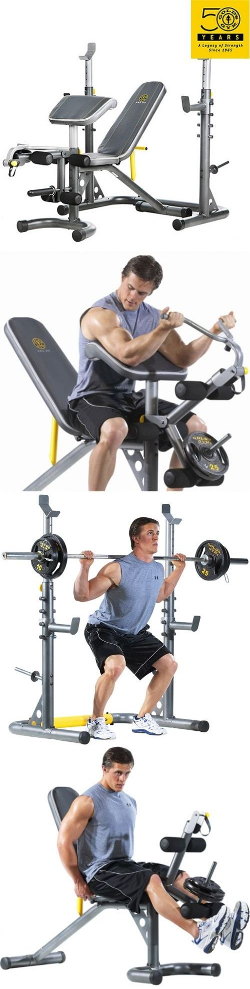 Home Gyms 158923: Workout Weight Bench Press Incline Decline Machine Gym Squat Lifting Rack New -> BUY IT NOW ONLY: $206.92 on eBay!