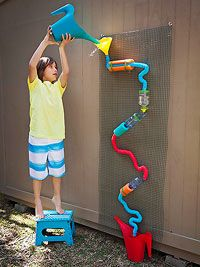 257 best images about child care outside play on for Best water pipe for outside