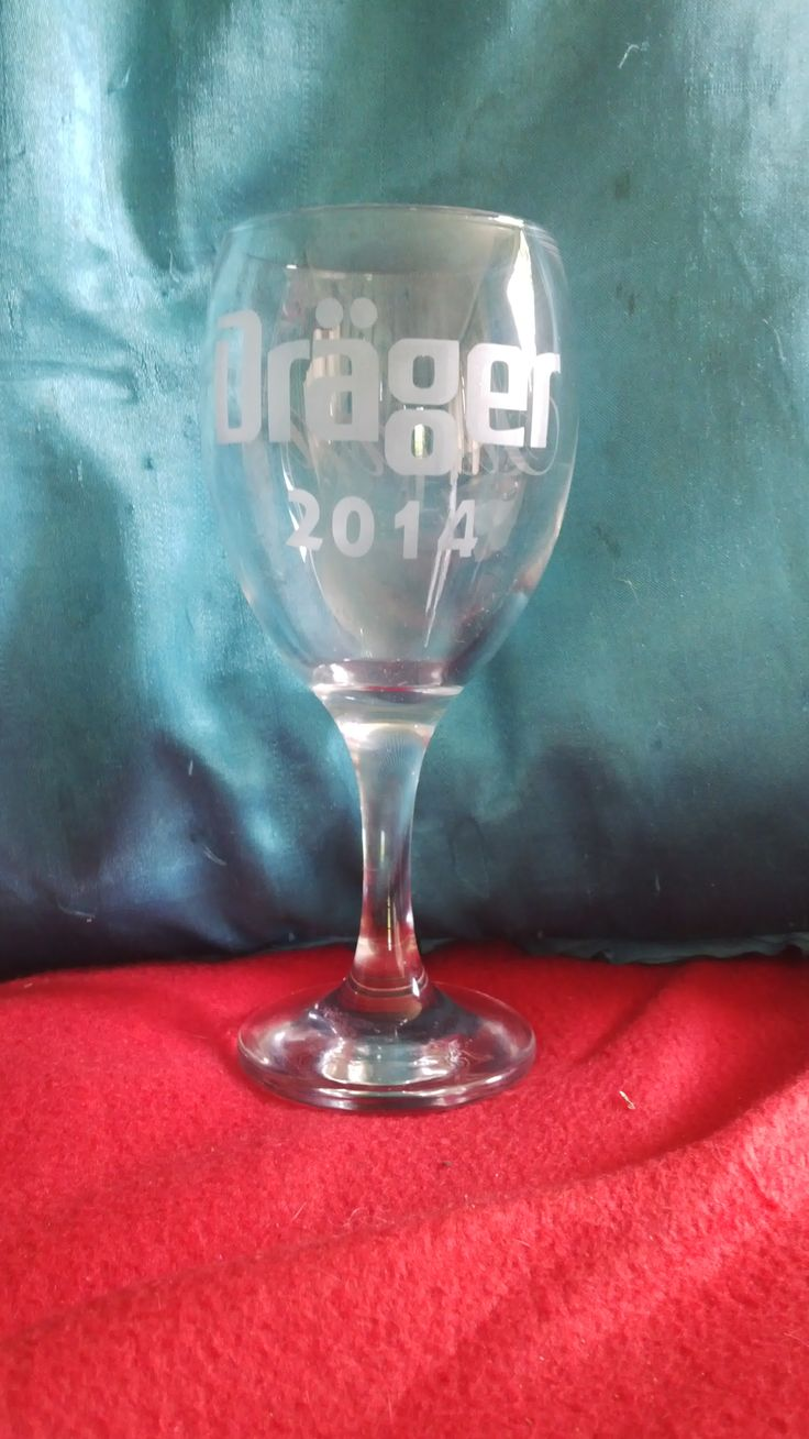 corporate gifts - wine glass