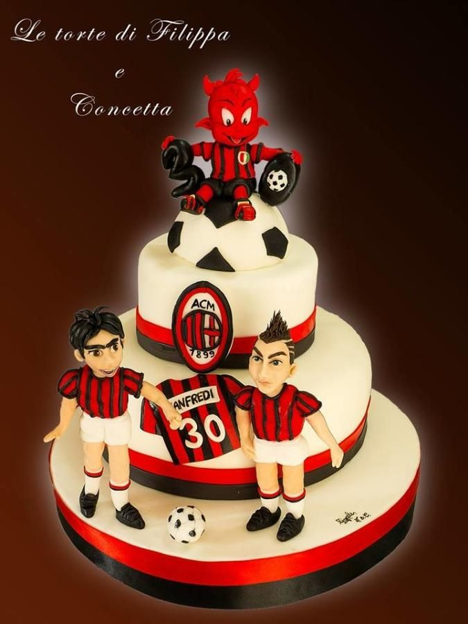 Ac Cake Decorating Hornsby Nsw : 17+ best images about milan Party on Pinterest Soccer ...