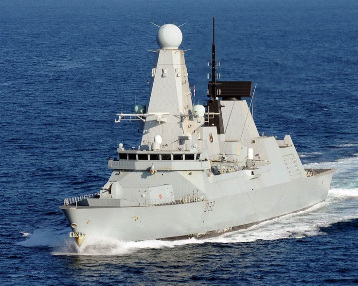 Royal Navy Type 45 destroyer HMS Daring