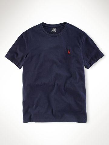 Custom-Fit Short-Sleeved Tee - Polo Ralph Lauren Tees - RalphLauren.com
