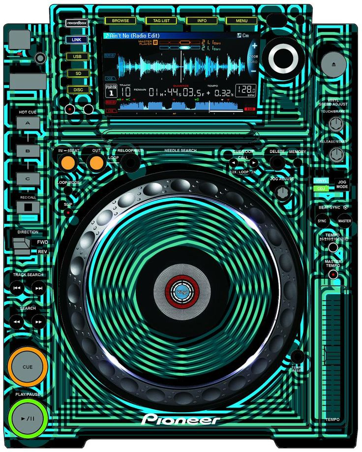 Pioneer CDJ 2000 Remix Art Contest Djs love art too and artists love music.