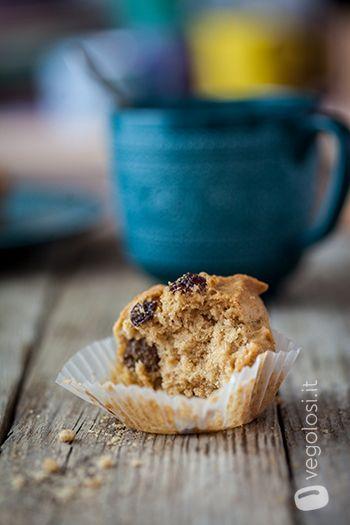 Muffin vegani cannella e zenzero