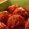 Fifteen Minute Meatballs | mrfood.com I substitute crushed tortilla chips for the breadcrumbs to make this gluten free.