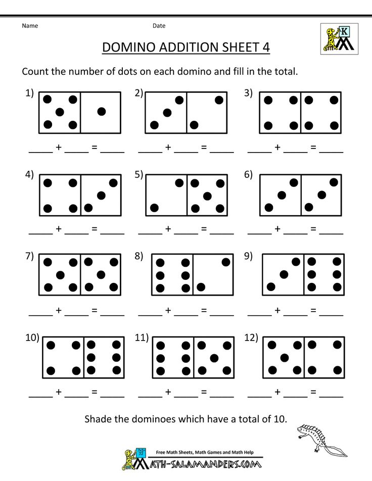 Kindergarten Math Addition Worksheets | ... Worksheets http://www.math-salamanders.com/addition-math-worksheets