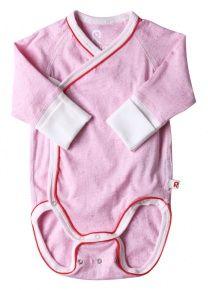 Dětské body Reima Glomma - pale pink 599,-