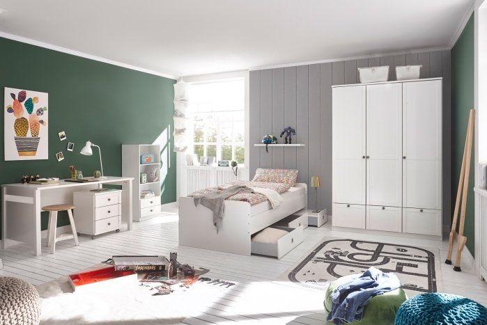 Schones Jugendzimmer In Weiss Und Landhausstil Jugendzimmer