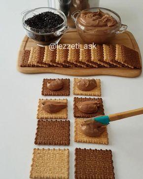 """8,612 Beğenme, 123 Yorum - Instagram'da lezzet-i_ask (@lezzeti_ask): """"Hayırlı akşamlar yazın bu sıcak günlerinde ev yapımı pudingle hazırlanmış bisküvili pasta…"""""""