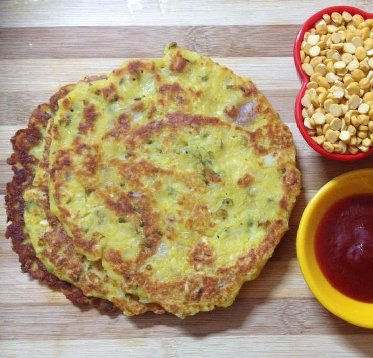 Sprouts Channa Daal Dosa