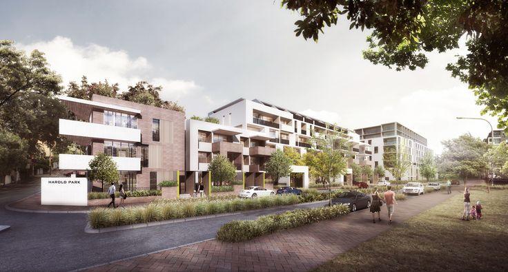 Harold Park Affordable Housing Winner of select design competition Sydney