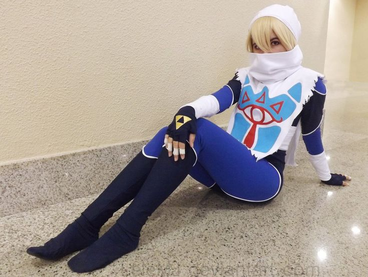 Sheik - The Legend Of Zelda 03 by LeleMJ.deviantart.com on @deviantART