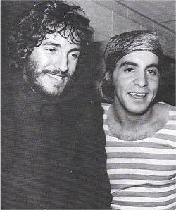 Stevie always had interesting tastes in headwear. #springsteen