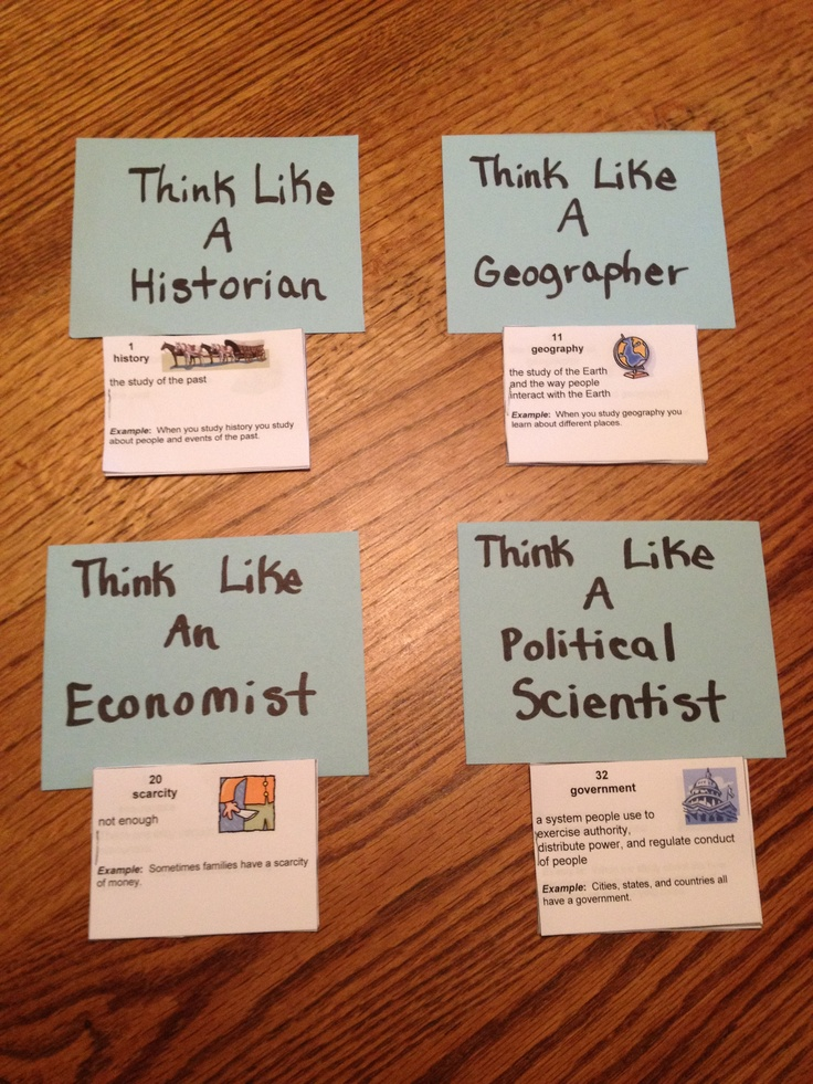 Social studies definition booklets :)