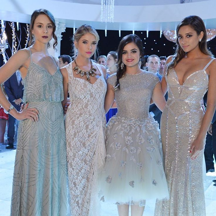 """135.3k Likes, 737 Comments - Pretty Little Liars (@prettylittleliars) on Instagram: """"Dressed to perfection. #BehindTheScenes #PLLMemoryLane 108 of 150 // Season 5, Episode 13. #PLL…"""""""