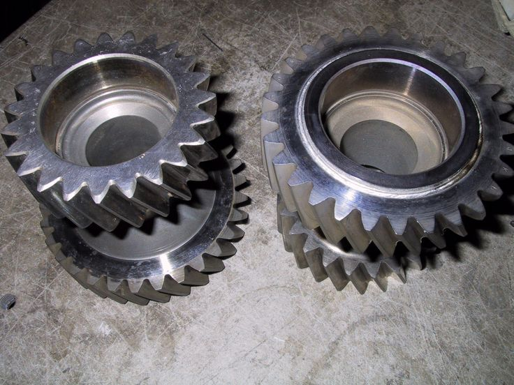 Gears 5mm deep using electron beam welding
