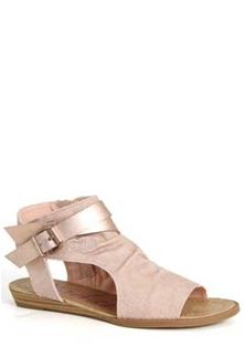 f5b2e55c8ee5f2 Blowfish Shoes Balla Wedge Sandals in Rose Gold BF-5486-RSEGLD ...