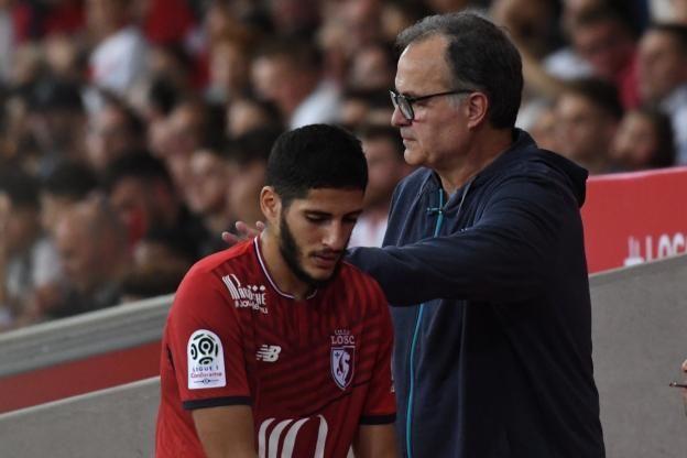 Football - GOURDOL Nathan - Yassine Benzia a apporté son soutien à Marcelo Bielsa. (A.Reau/L'Equipe)