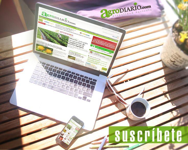 ¿quieres recibir en tu mail nuestro boletín diario de noticias agrícolas e industrias afines? Suscríbete http://agrodiario.com/pag/page192/