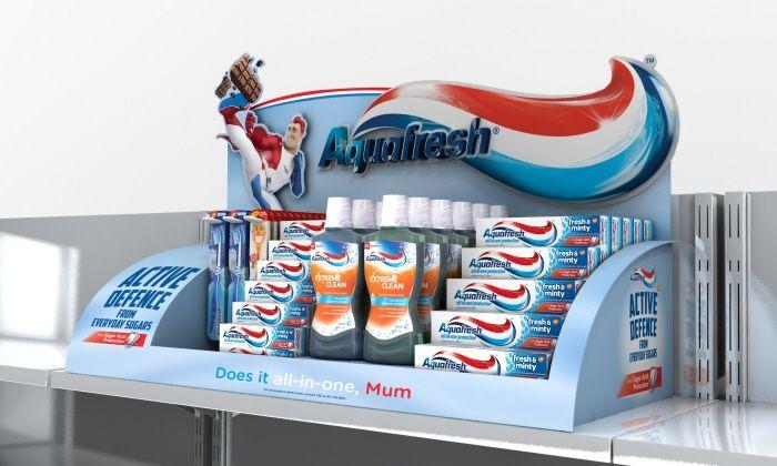 Aquafresh POS 2014 by Stephen Russell at Coroflot.com