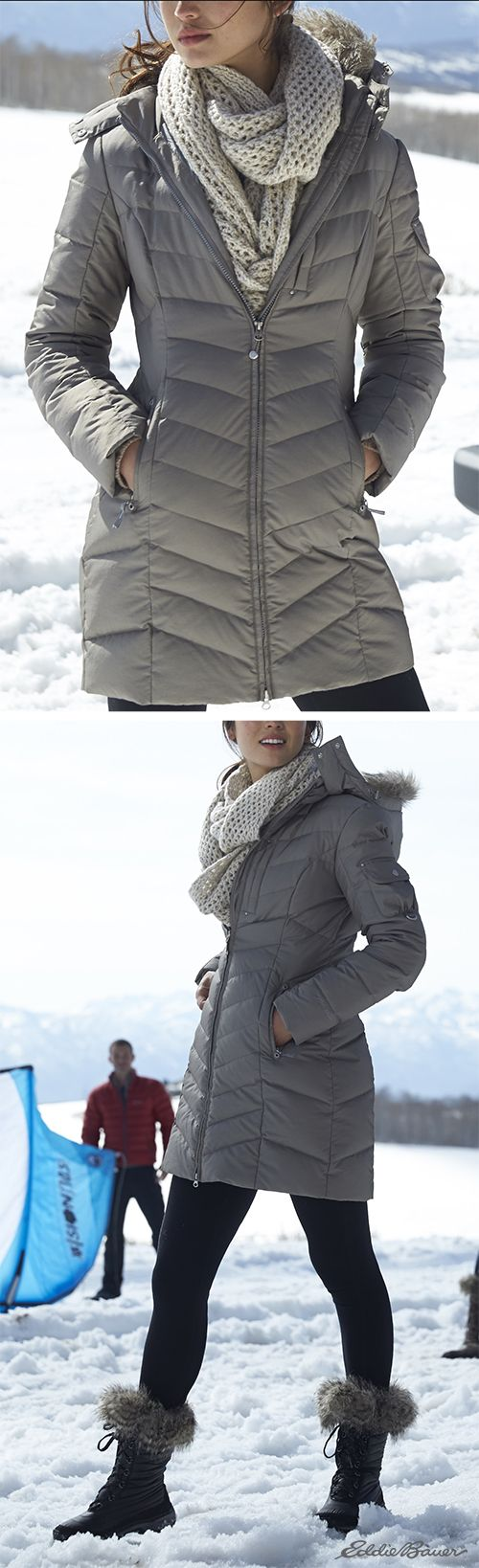 Women's Sun Valley Down Parka | Besides warmth, our parka provides extra weather protection with exclusive StormRepel® durable water-repellent (DWR) finish.