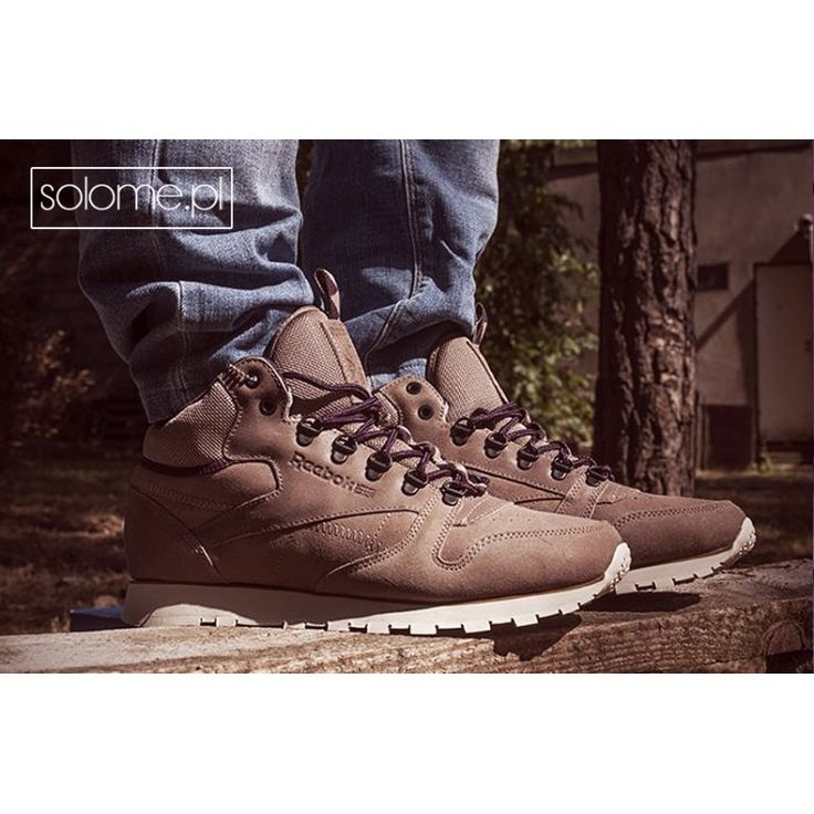 REEBOK CL LEATHER MID TRAIL V62857