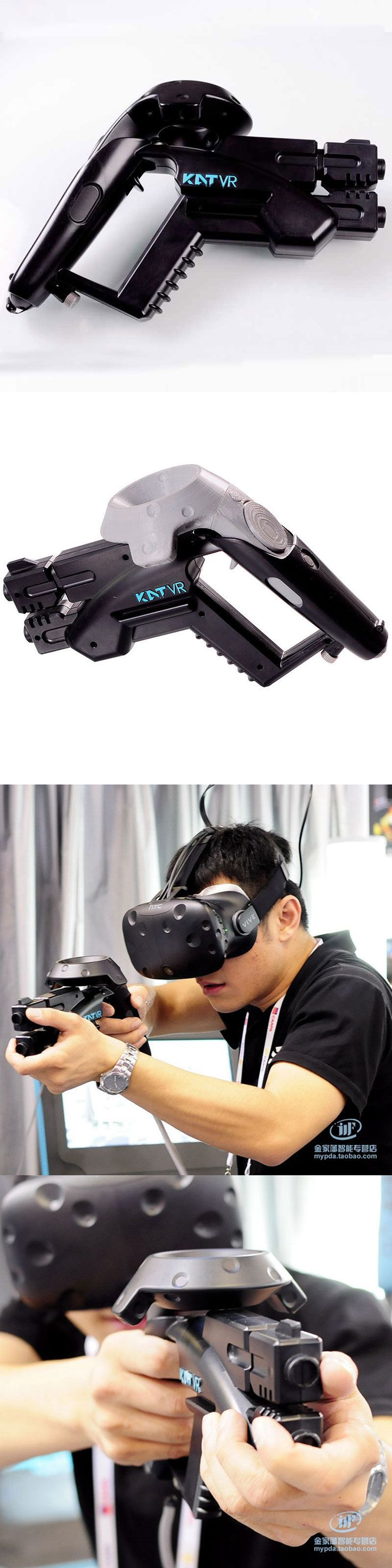Other Virtual Reality Accs: Small Pistol Gun Vr Handgun Shooting Game For Htc Vive Glasses Vr Shop -> BUY IT NOW ONLY: $53.99 on eBay!