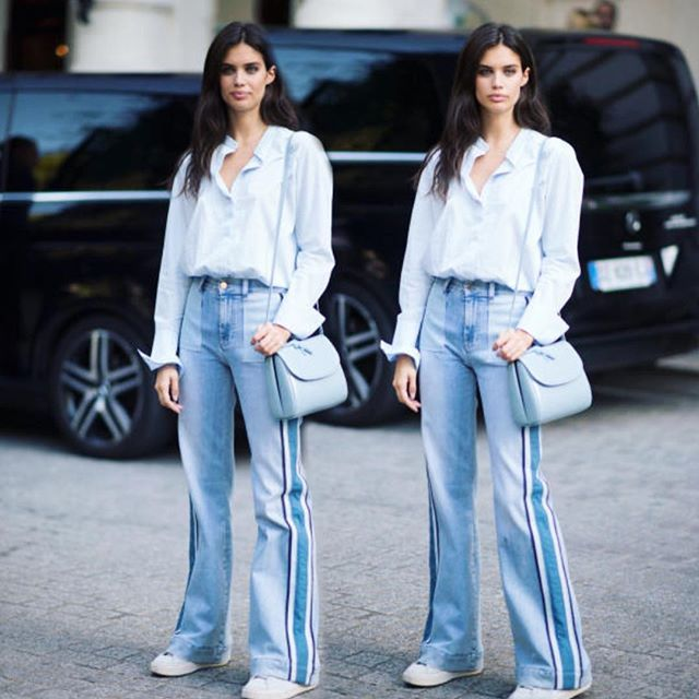 #NEW || Sara Sampaio after the Redemption show in Paris.  @sarasampaio #sarasampaio #victoriassecret #streetstyle