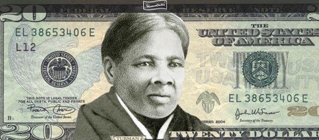 Ex-escrava é a primeira mulher a estampar uma nota de dólar