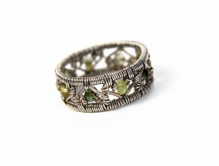 358 best wire wrap rings images on Pinterest | Wire wrapped rings ...