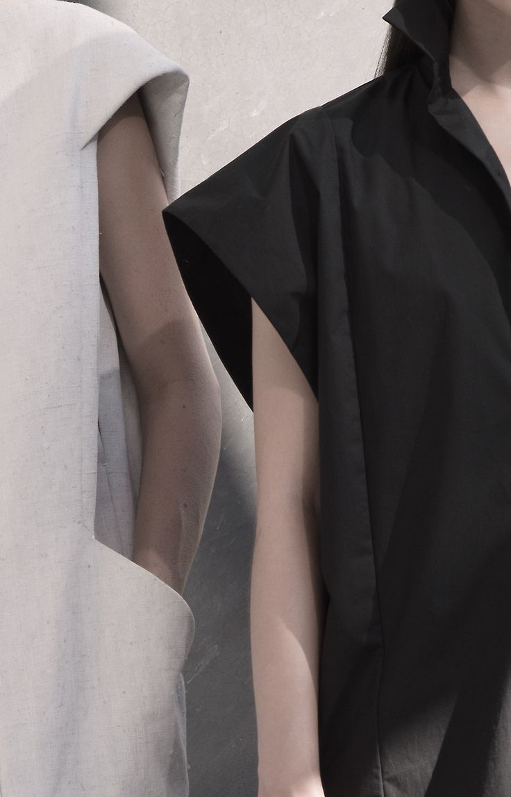 Contemporary Fashion Design with clean lines; minimalist fashion details // Zaid Affas Spring 2015