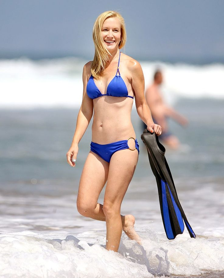Angela Kinsey | Hot Celebs in Swimsuits over 40 | Us Weekly