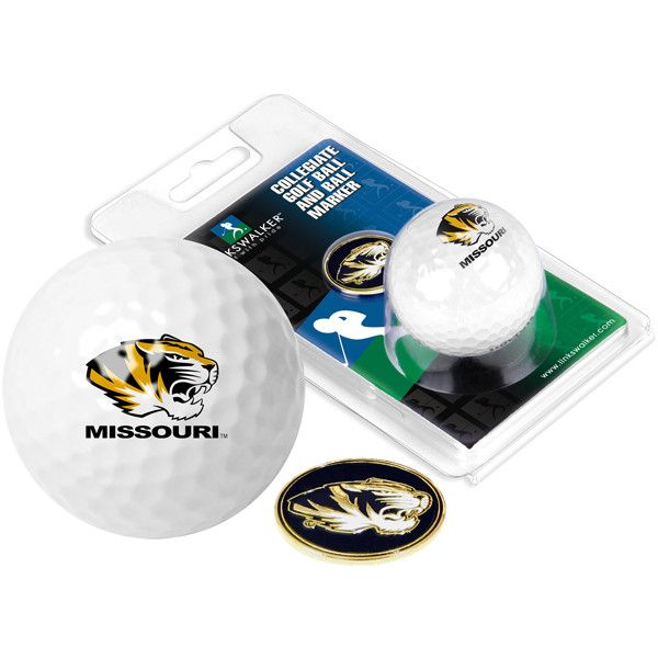 Missouri Tigers - Golf Ball One Pack with Marker