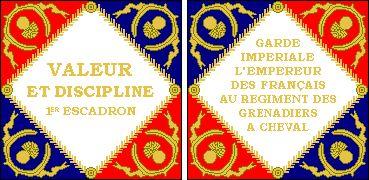 Bandiera dei granatieri a cavallo