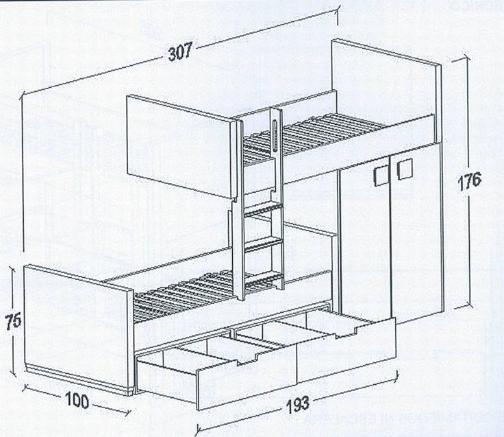 M s de 25 ideas incre bles sobre medidas de camas en - Medidas de camas ikea ...