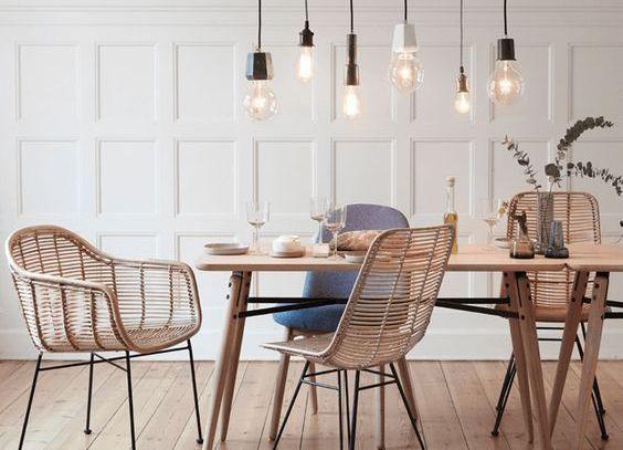 Rotan! De nieuwste trend we love, stoelen, lampen en accessoires in rotan. Het maakt niet uit van...