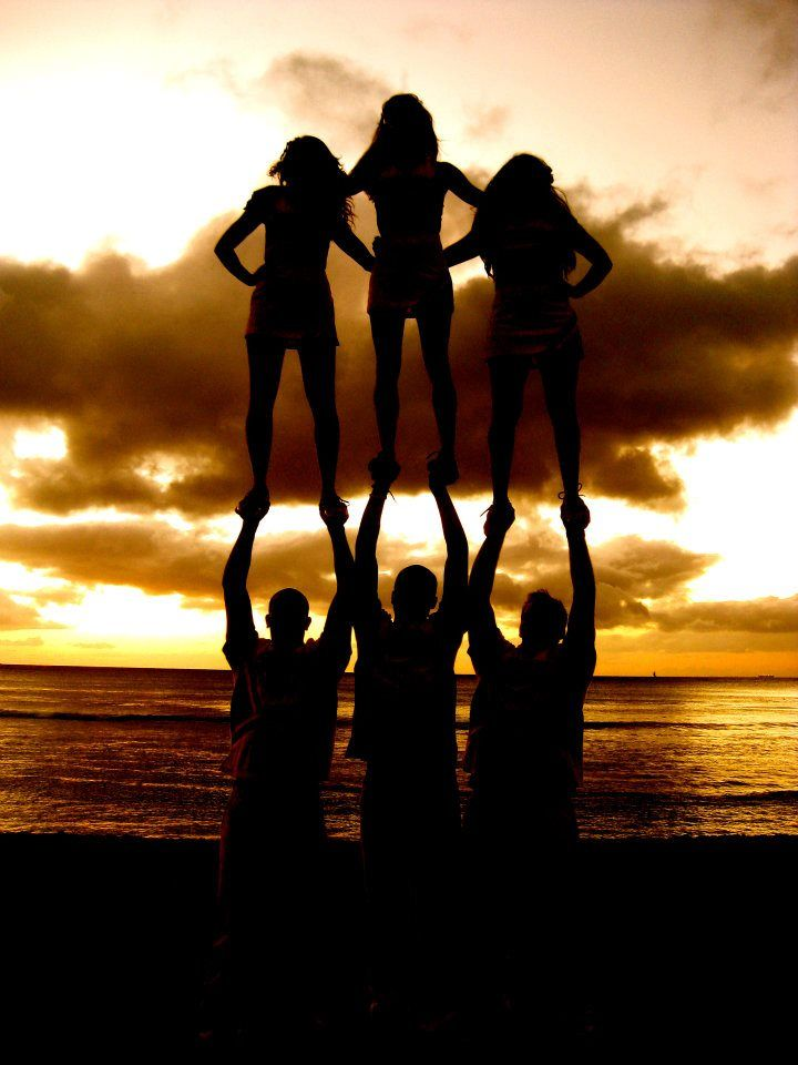 sunset stunting... Love the beach with sunset! My friends and have to do this!!
