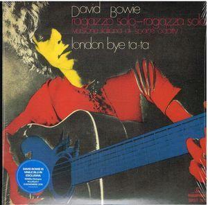 """Ragazzo Solo Ragazza Sola [Import] - David Bowie """"7"""