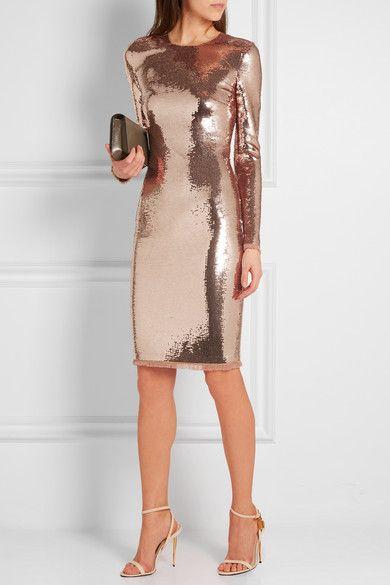 Tom Ford | Sequined tulle dress | NET-A-PORTER.COM