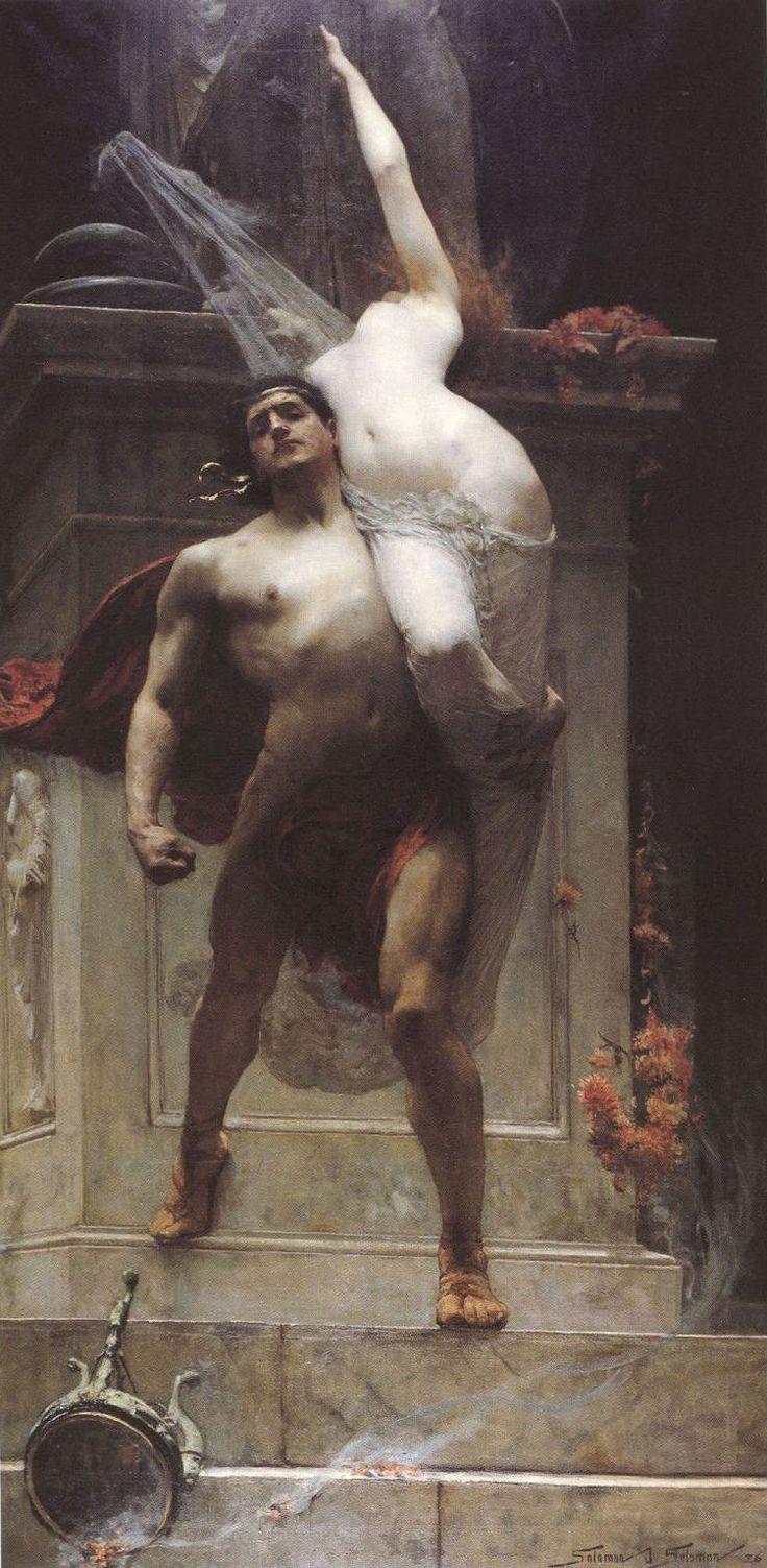 Solomon Joseph Solomon, Ajax and Cassandra, 1886